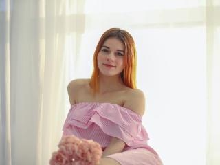 Fotografija seksi profila modela  Jennem za izredno vroč webcam šov v živo!