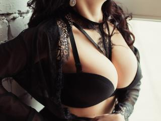 Sexet profilfoto af model SmileNightSky, til meget hot live show webcam!