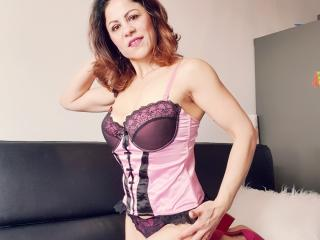 Foto de perfil sexy da modelo MariaoliX, para um live show muito quente!