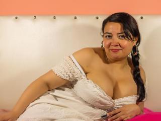 Sexy Profilfoto des Models HayleyX, für eine sehr heiße Liveshow per Webcam!