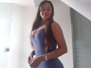 Foto de perfil sexy da modelo Dulcex69, para um live show muito quente!