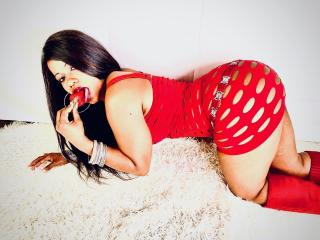 Sexet profilfoto af model Cin, til meget hot live show webcam!