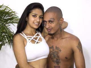 Foto de perfil sexy de la modelo MaraAndLion, ¡disfruta de un show webcam muy caliente!