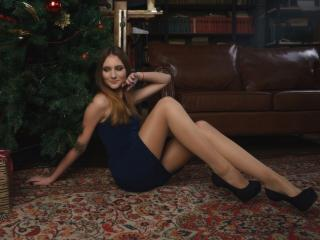 Sexet profilfoto af model InnaMiracle, til meget hot live show webcam!