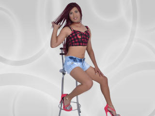 Photo de profil sexy du modèle Karolayn, pour un live show webcam très hot !