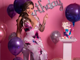 Photo de profil sexy du modèle MeganErotic, pour un live show webcam très hot !