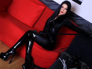 Picture of the sexy profile of MistressxRavenna, for a very hot webcam live show !