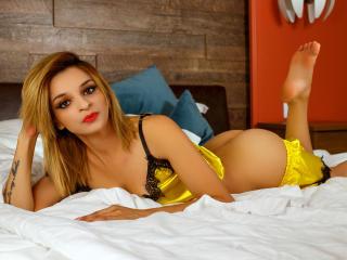 Poza sexy de profil a modelului KammyJoe, pentru un intens show webcam live !