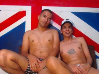 WildsexLatino - Live cam porn with a average constitution Gay couple
