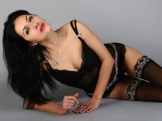 Picture of the sexy profile of Cherysh, for a very hot webcam live show !