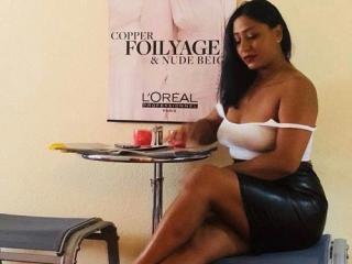 Photo de profil sexy du modèle DiamondEmma, pour un live show webcam très hot !