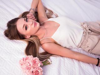 Photo de profil sexy du modèle AlisaArly, pour un live show webcam très hot !