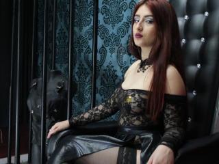 Foto de perfil sexy da modelo FreyjaHorn, para um live show muito quente!
