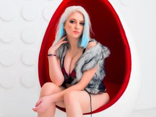 Photo de profil sexy du modèle OliviaClark, pour un live show webcam très hot !