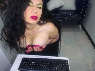Sexy Profilfoto des Models Kokea, für eine sehr heiße Liveshow per Webcam!
