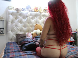 Picture of the sexy profile of CanelaRun, for a very hot webcam live show !